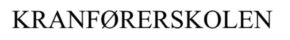 Kranførerskolen logo