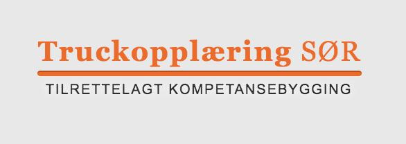 Truckopplæring SØR Agder logo